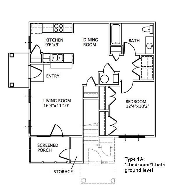 48Bedroom Floor Plans MAY RIVER VILLAGE Mesmerizing Bedroom Floor Plan